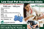 Low Cost Pet Vaccination Clinic