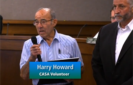 Citizens Shaping The County: Harry Howard CASA...