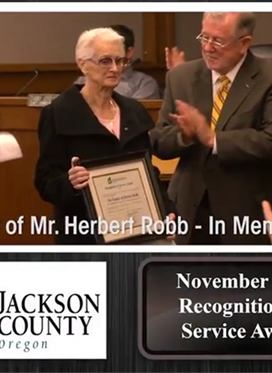 JC Potpourri: Mr Herbert Robb Recognition of Service...