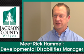 Meet Rick Hammel:  Developmental Disabilities...