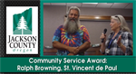 Community Service Award: Ralph Browning