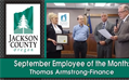 September Employee of the Month: Tom Armstrong
