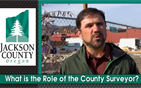 What is the role of the County Surveyor?