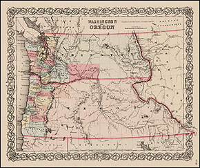 Grand Ronde Oregon Map.How The County Was Formed Jackson County Oregon