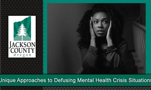 Unique Approaches to Defusing Mental Health Crisis Situations