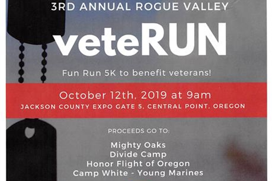 The Rogue Chapter of NCOA Proudly Presents the 3rd Annual Rogue Valley...