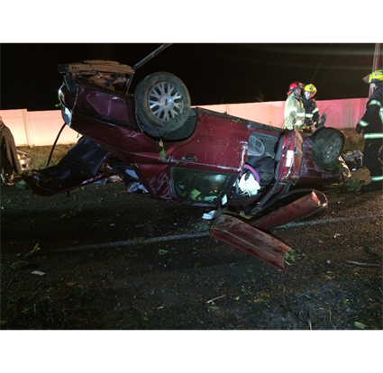 Driver arrested for DUII in rollover crash
