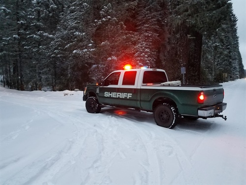 Be Safe in the Snow (Photo)