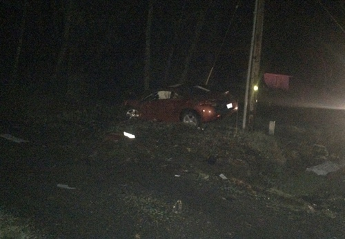 Man Dies in Single-Vehicle Crash (Photo)