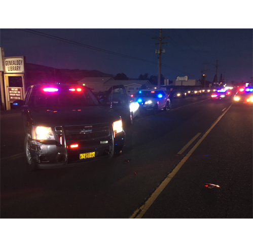 Driver Arrested Following Lengthy Pursuit (Photo)