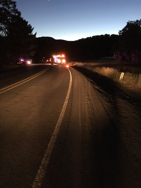 Man Dies in Gold Hill Motorcycle Crash (Photo)