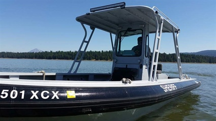 Deputies Watching for Impaired Boaters (Photo)