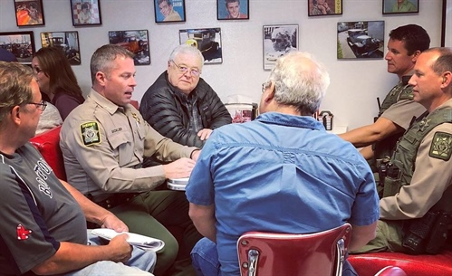 Coffee with a Cop in Shady Cove Tuesday (Photo)