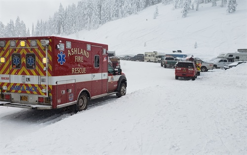 Skier Dies on Mt. Ashland (Photo)