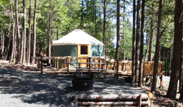 Willow Lake Cabins Amp Yurts Jackson County Parks Photo