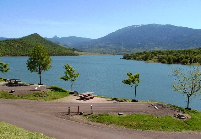 Emigrant Lake Rv Park Amp Campground Jackson County Parks