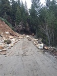 Road Closure - Carberry Creek Road at milepost 3