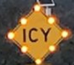 New ICY Sign Installation