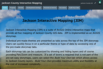 Jackson County Interactive Mapping