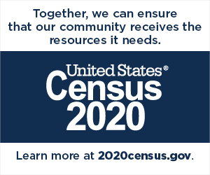 Learn more at 2020census.gov