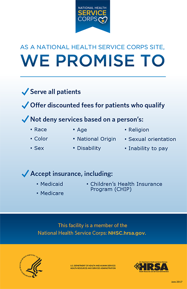 National Health Services Corp Site