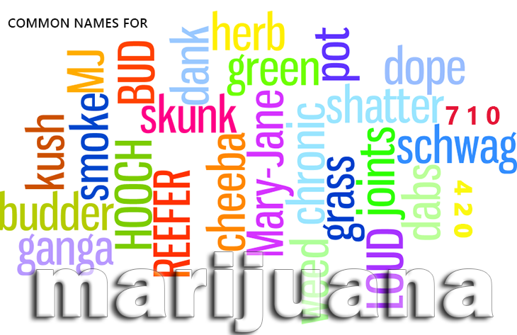 other names for marijuana
