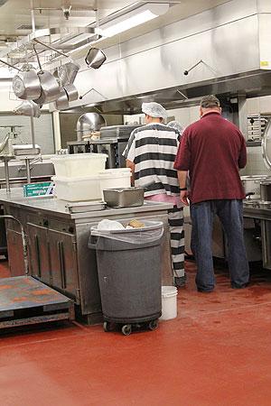 Jail Kitchen