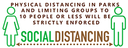 Social Distancing Enforced