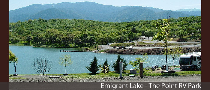 Emigrant Lake The Point RV Park