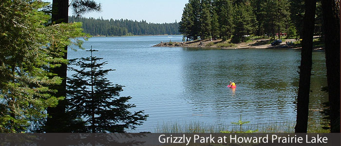 Grizzly Park at Howard Prairie Lake