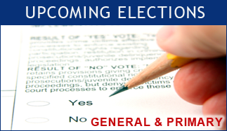 Upcoming General & Primary Elections
