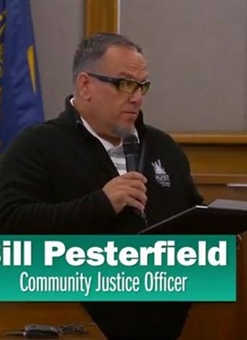Meet The People: Bill Pesterfield, Community Justice...