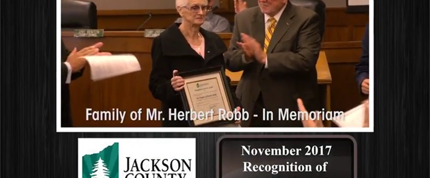 JC Potpourri: Mr Herbert Robb Recognition of...