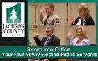 Sworn Into Office:  Your Four Newly Elected Public Servants