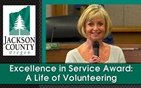 Excellence in Service Award:  A Life of Volunteering