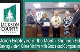 March Employee of the Month:  Shannon Eck