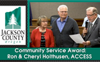 Community Service Award: Ron and Cheryl Holthusen