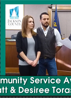 Community Service Award: Matt & Desiree Torassa