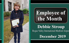 Debbie Stroup: December Employee of the Month