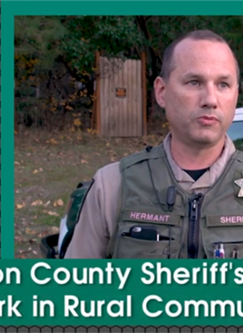 Jackson County Sheriff's Office at Work in Rural Communities