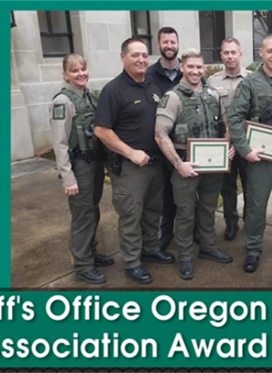 2019 Oregon State Sheriff Association Award Winners
