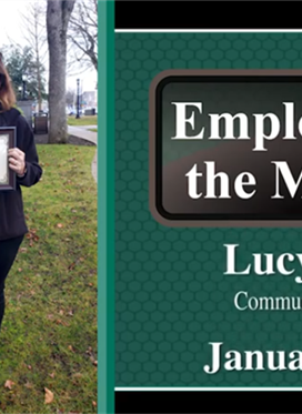 Lucy Seus: January Employee of the Month