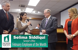 Selima Siddiqui: February Employee of the Month