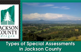 Types of Special Assessments in Jackson County