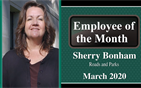 Sherry Bonham: March Employee of the Month