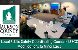LPSCC Meeting: Modifications to Minor Laws