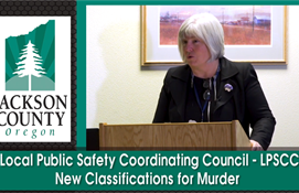 LPSCC Meeting: New Classifications for Murder