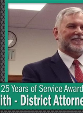 25 Years of Service Award: Allan Smith
