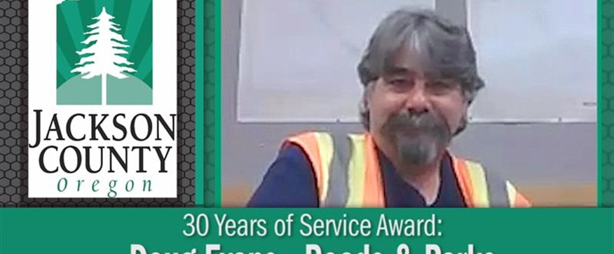 30 Years of Service Award: Doug Evans