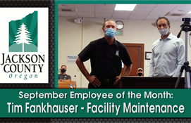 Tim Fankhauser - September Employee of the Month